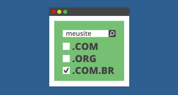registrar um dominio .com.br