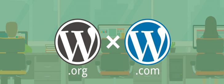 Diferenças WordPress.com e WordPress.org