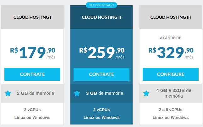 Locaweb cloud hosting