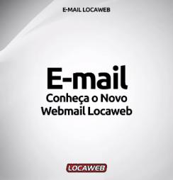 novo webmail Locaweb