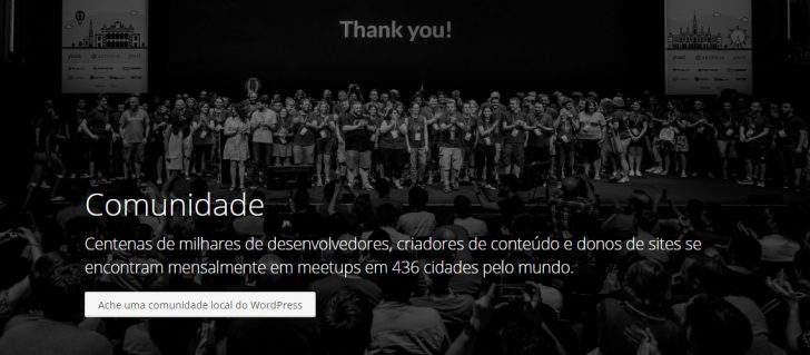Comunidade do WordPress