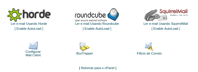 webmail cpanel