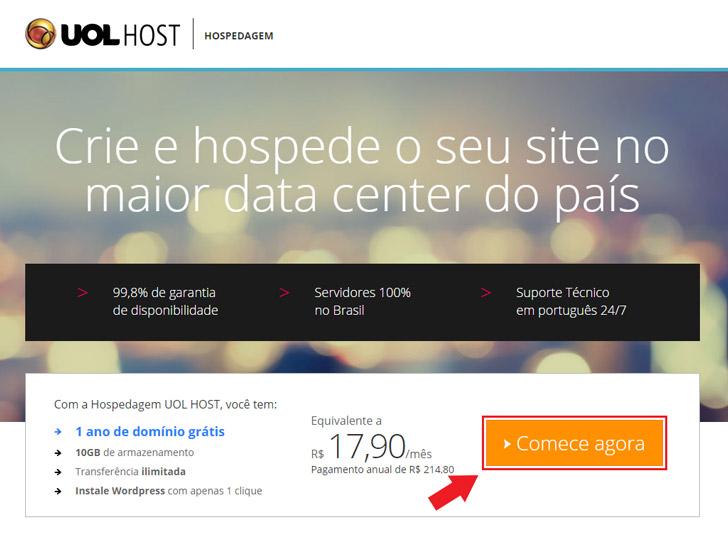 Hospedagem UOL Host