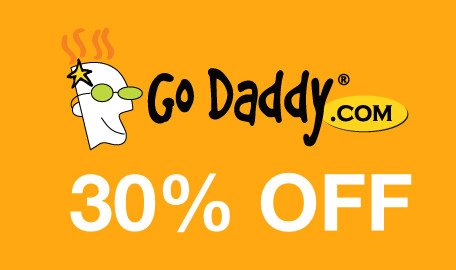 godaddy 30% off