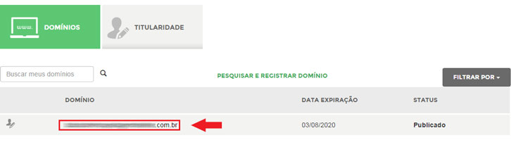 alterar dns registro.br