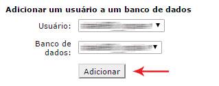 Associar usuário ao banco de dados