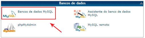 link para o banco de dados mysql