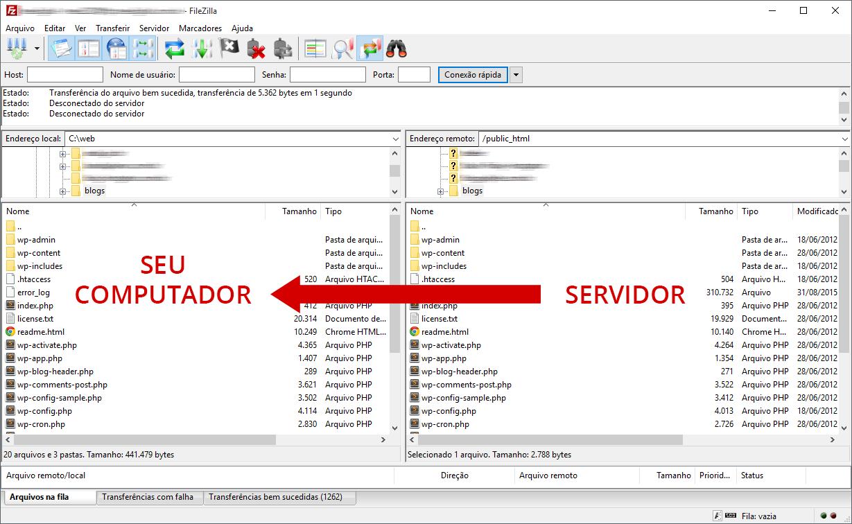 Banco de dados remoto hostgator