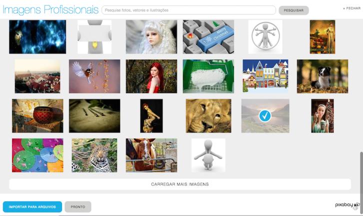 Criador de Sites UOL HOST - Sitebuilder - inserir imagem profissional