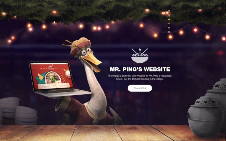 Wix startstunning mr ping website
