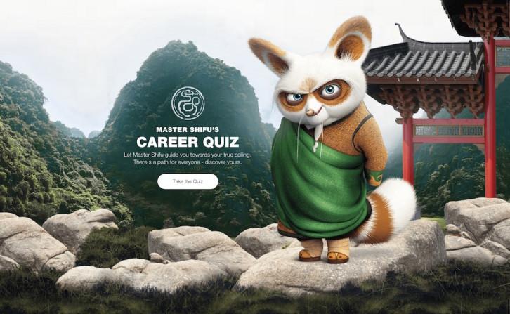 Wix startstunning quiz