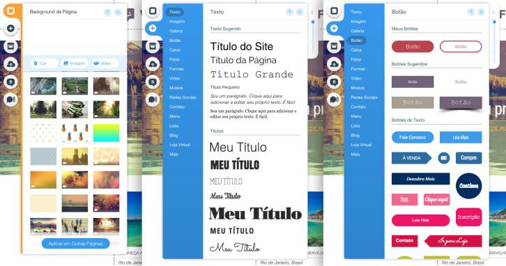 Editor-de-Site-Wix-background-texto-botao