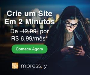 Crie um site em 2 minutos com o Impress.ly