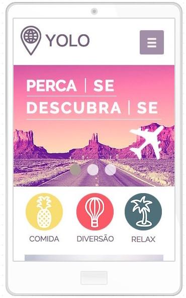 Operador Turístico Template WIX mobile