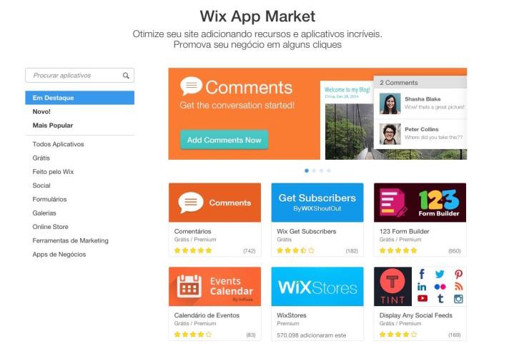 Wix App Market Wix.com