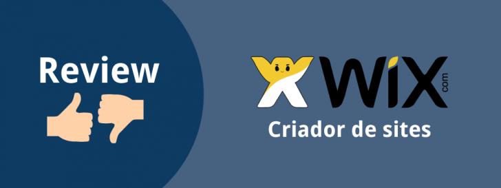 Criador de sites Wix