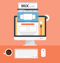 Criar site Wix