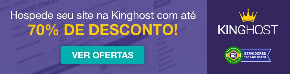 Kinghost - hospedagem de sites com até 70% de desconto