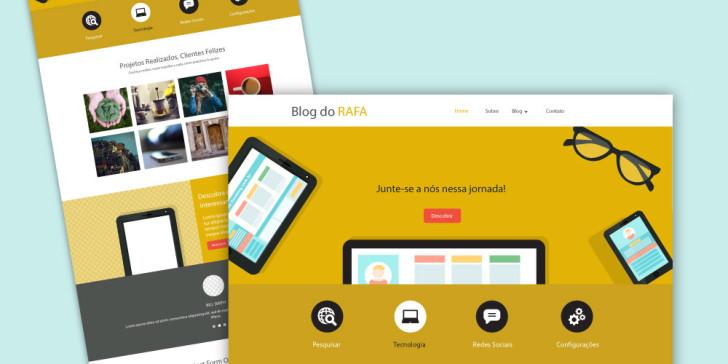 ferramentas para criar um blog