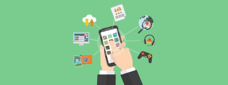 aumento do uso de dispositivos móveis