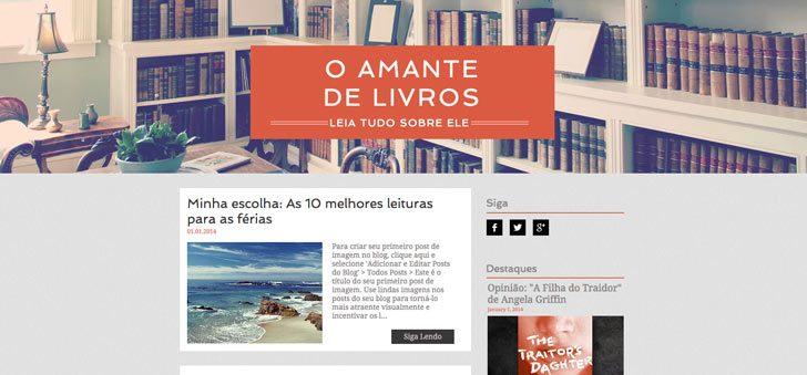 Blog exemplo