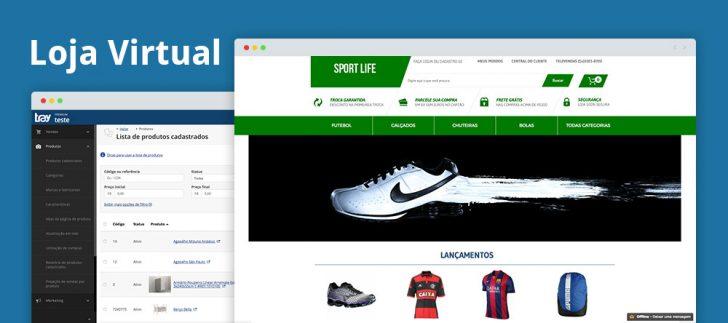 Tray commerce loja virtual