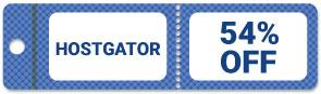 HostGator 54% OFF