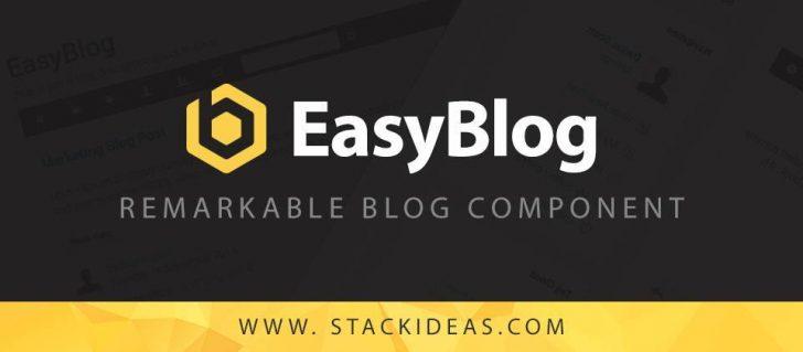 EasyBlog - extensão para Joomla