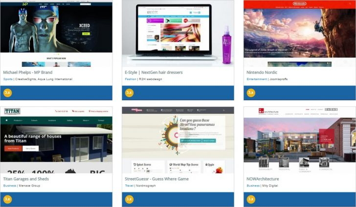Joomla Showcase