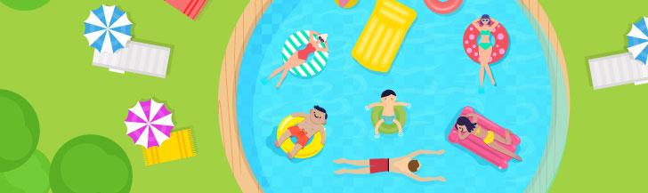 piscina hospedagem ilimitada