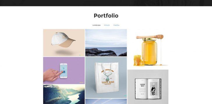 Template Joomla JSN Artista - galeria de fotos