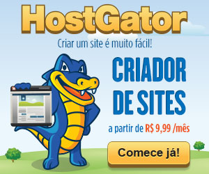 HostGator criador de sites