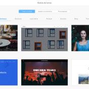 Criador de Sites HostGator - galeria de temas