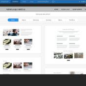 Criador de Sites HostGator - layout blog
