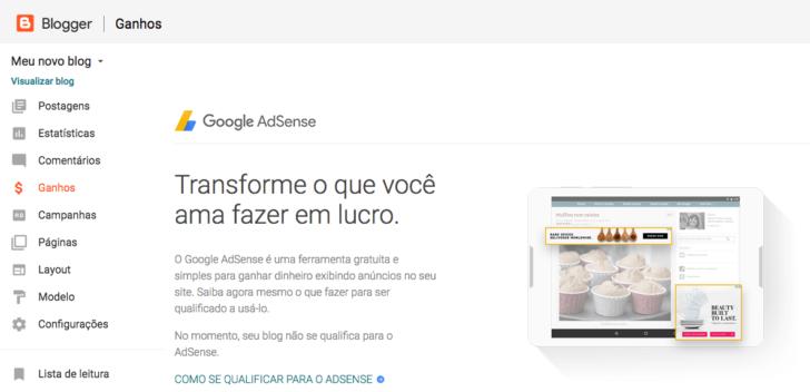 Recursos Blogger - AdSense