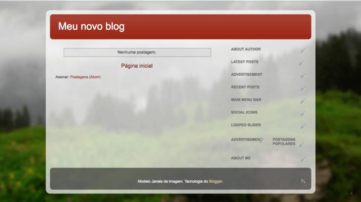 Tema Blogger