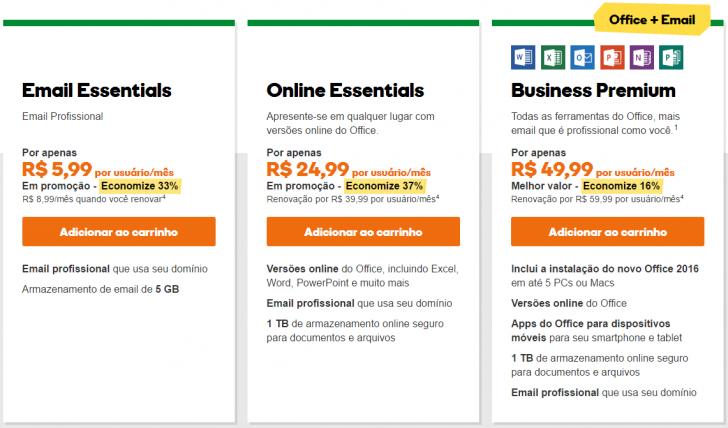 Microsoft Office 365 - GoDaddy
