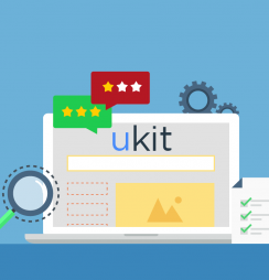 ukit Criador de sites