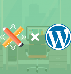 criador de site ou wordpress