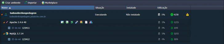 Jelastic Cloud - Configurando ambiente 09