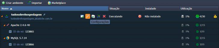 Jelastic Cloud - Configurando ambiente 15