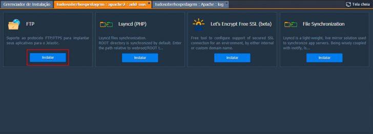 Jelastic Cloud - Configurando ambiente 18