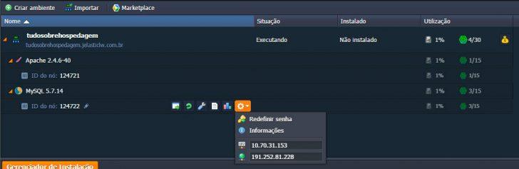 Jelastic Cloud - Configurando ambiente 23