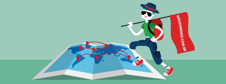 como funciona a propagação de domínios na internet