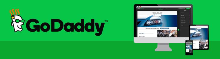 Criador de sites GoDaddy