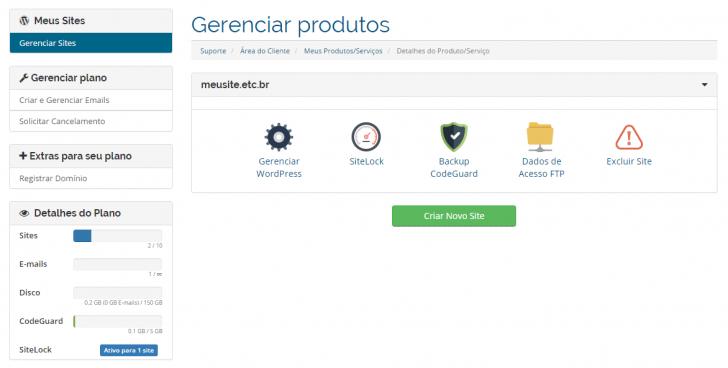 Hospedagem WordPress HostGator: acesso ao painel