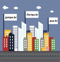 Internautas escolhem domínios para suas cidades
