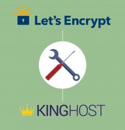 como instalar Let's Encrypt na KingHost