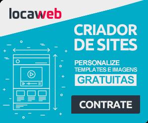 Criador de Sites Locaweb - teste gratuitamente