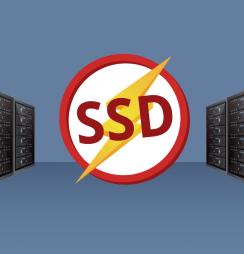Hospedagem com SSD